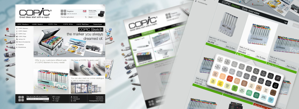 COPIC's e-shop