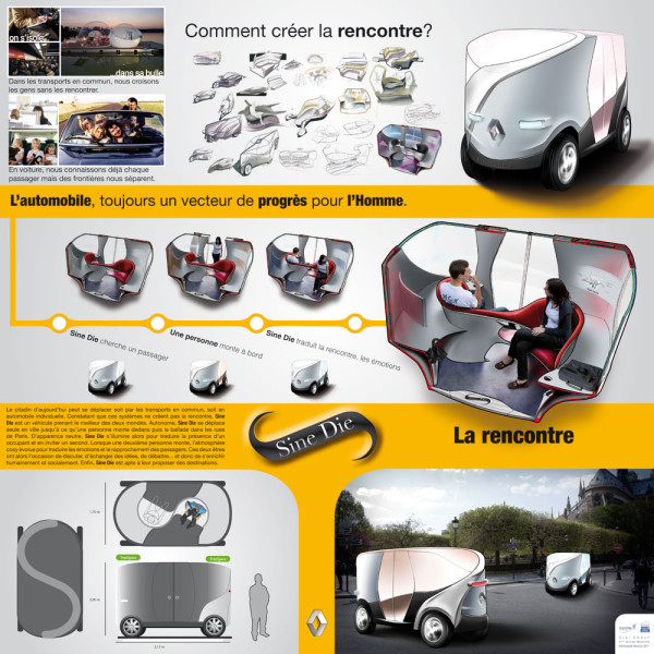 Renault Sine Die - Planche